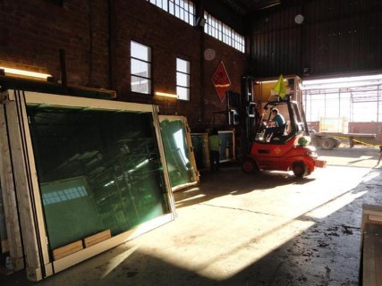 Float glass stock